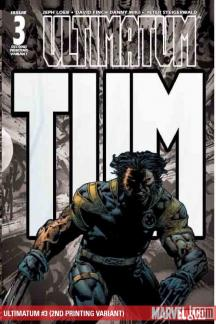 Ultimatum (2008) #3 (2ND PRINTING VARIANT)