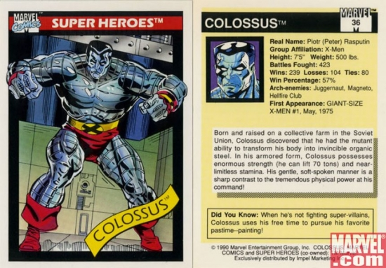Colossus, Card #36