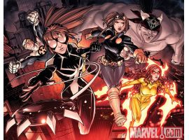 Image Featuring Spider-Girl (Anya Corazon), Firestar, Gravity