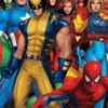 Image Featuring Invisible Woman, Iron Man, Spider-Man