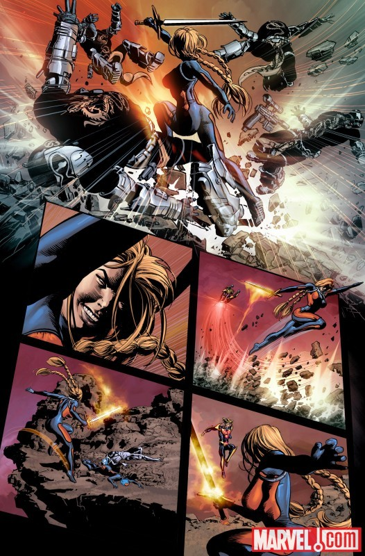 SECRET AVENGERS #3 preview art by Mike Deodato 3