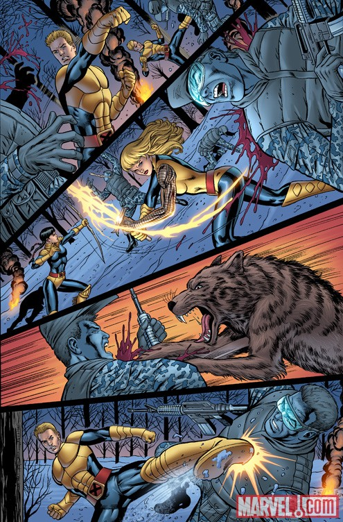 NEW MUTANTS FOREVER #1 preview art by Al Rio 4