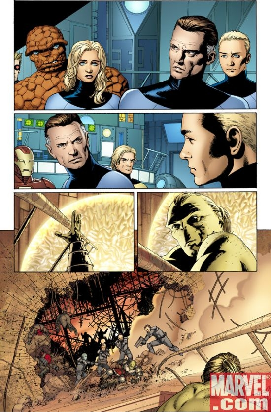 GIANT-SIZE ASTONISHING X-MEN #1 Interior Art