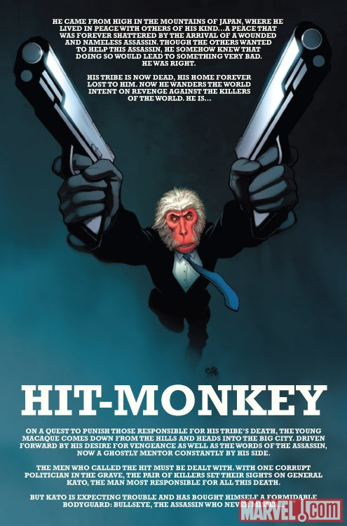 HIT-MONKEY #2 recap page