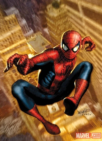 Spider-Man by Salvador Larroca