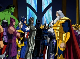 Avengers assembled in The Avengers: Earth's Mightiest Heroes!