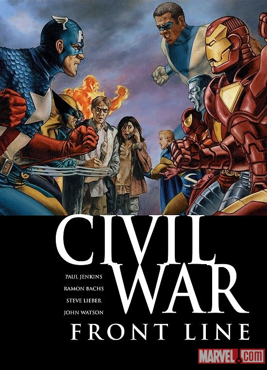 Civil War: Front Line #1 Cover