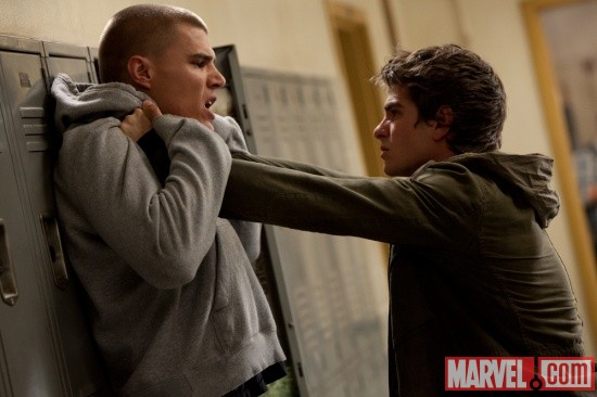 Andrew Garfield stars as Peter Parker/Spider-Man in The Amazing Spider-Man