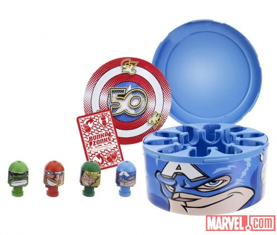 Bonka Zonks Captain America Face Case