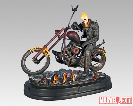 Ghost Rider Statue mini bust by Gentle Giant Ltd