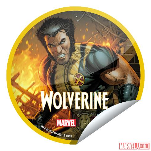 Wolverine #304 sticker