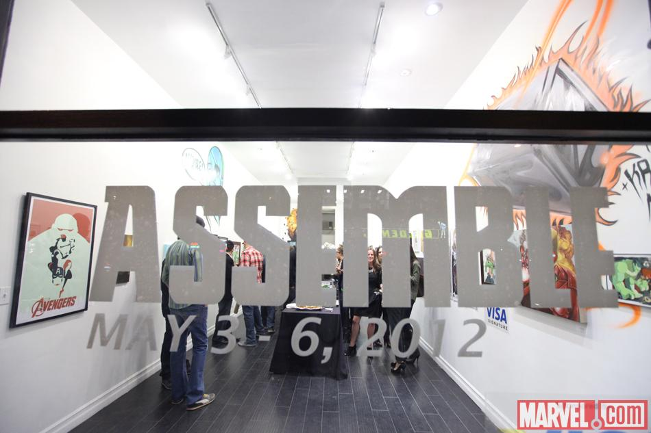 Assemble at Gallery1988 this weekend for the Avengers-inspired art gallery