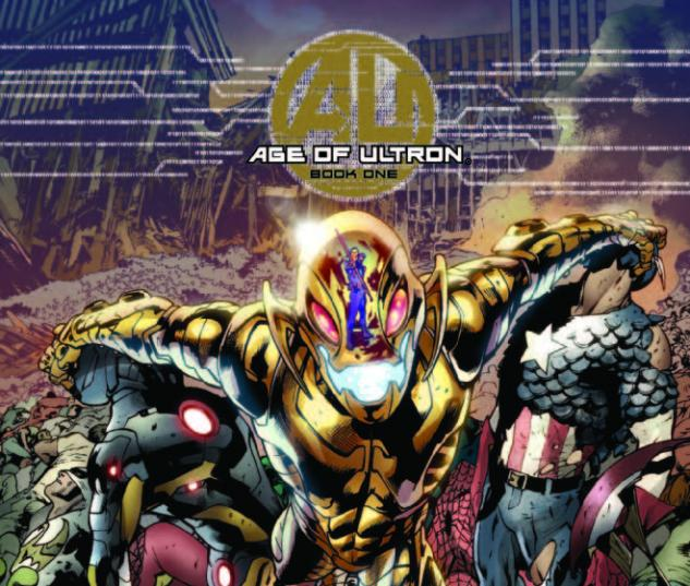 AGE OF ULTRON 1 FOIL COVER (WITH DIGITAL CODE)