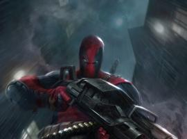 Deadpool card art by Francesco Mattina from Marvel War of Heroes