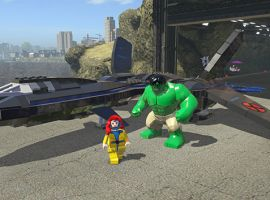The X-Jet from LEGO Marvel Super Heroes