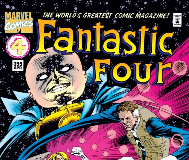 Fantastic Four (1961) #399 Cover