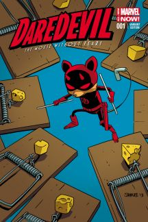 DAREDEVIL 1 SAMNEE ANIMAL VARIANT (ANMN, WITH DIGITAL CODE)