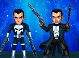 Punisher in 'Marvel Mighty Heroes'