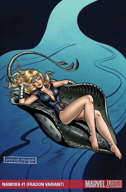 Namora (2010) #1 (FRADON VARIANT)