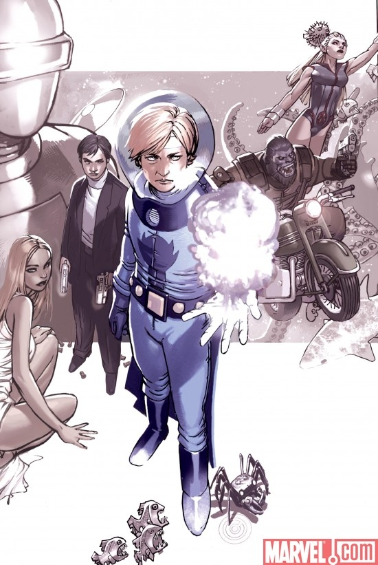 AGENTS OF ATLAS #2 SECOND PRINTING VARIANT