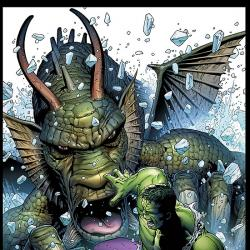 HULK VS. FIN FANG FOOM #1