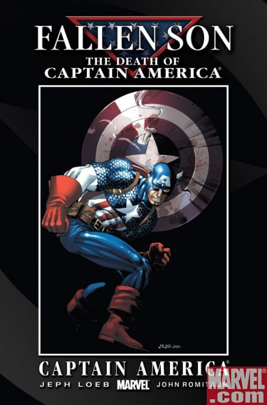 Fallen Son: Death of Cap. - Cap. (Romita Jr.
