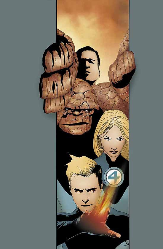 ULTIMATE FANTASTIC FOUR (1941) #20 COVER
