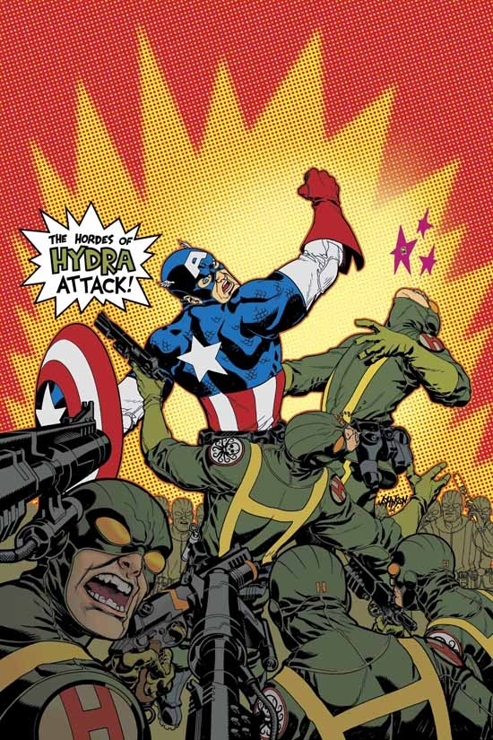 Captain America (2002) #29 cover
