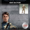 Full details on the Military Costume Set auction from Captain America: The First Avenger
