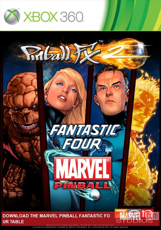 Marvel Pinball Fantastic Four Table DLC for Xbox Live