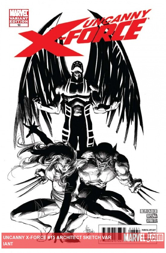 UNCANNY X-FORCE 15 ARCHITECT SKETCH VARIANT
