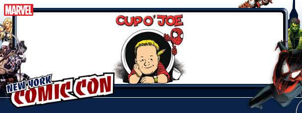 NYCC 2011: Cup O' Joe Panel Liveblog