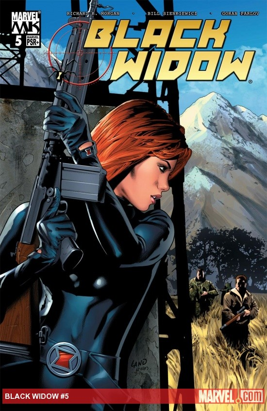 Black Widow (2004) #5