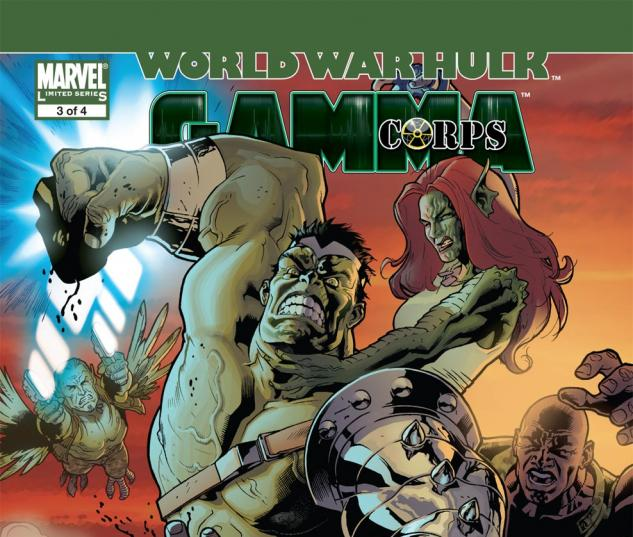 World War Hulk: Gamma Corps (2007) #3