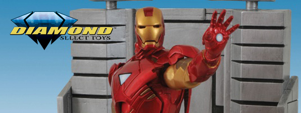 Marvel Select Iron Man Figure Revealed