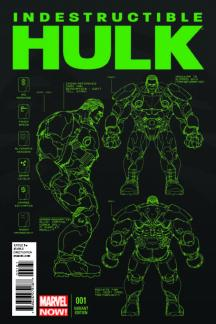 Indestructible Hulk (2012) #1 (Yu Design Variant)
