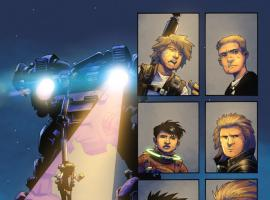 Avengers Arena #9 preview art by Kev Walker