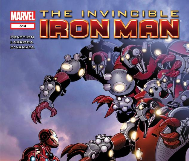 Invincible Iron Man (2008) #514