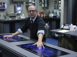 Ian Hart stars as Dr. Franklin Hall in Marvel's Agents of S.H.I.E.L.D. Season 1, Ep. 3 - The Asset