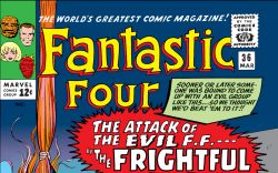 Fantastic Four (1961) #36 Cover
