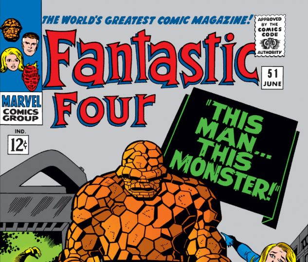 Fantastic Four (1961) #51 Cover