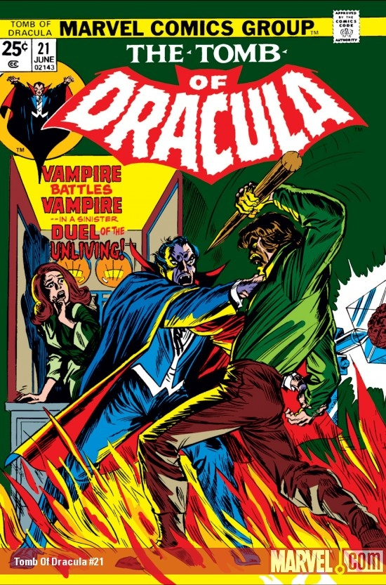 Tomb Of Dracula #21