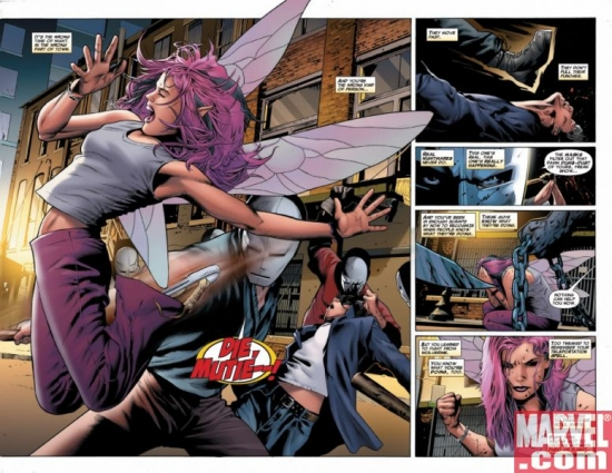 UNCANNY X-MEN #501, pages 2-3