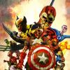 Marvel Zombies 2 #1 Cover