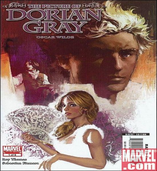 MARVEL ILLUSTRATED: PICTURE OF DORIAN GRAY #1