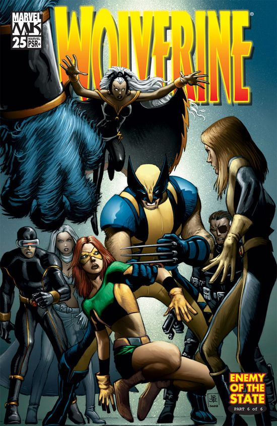 Wolverine (2003) #25 cover by John Romita Jr.