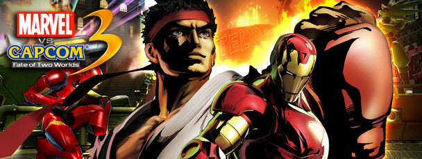 MvC3 Showdown Spotlight: Iron Man vs. Ryu