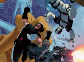 Uncanny X-Force #7 cover by Esad Ribic