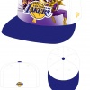 Los Angeles Lakers NBA Marvel Heroes Hat Concept Art