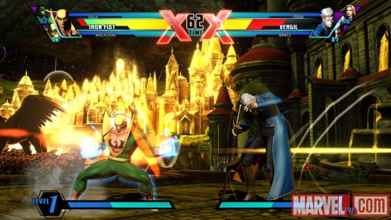 Ultimate Marvel vs. Capcom 3 Iron Fist Screenshot 6